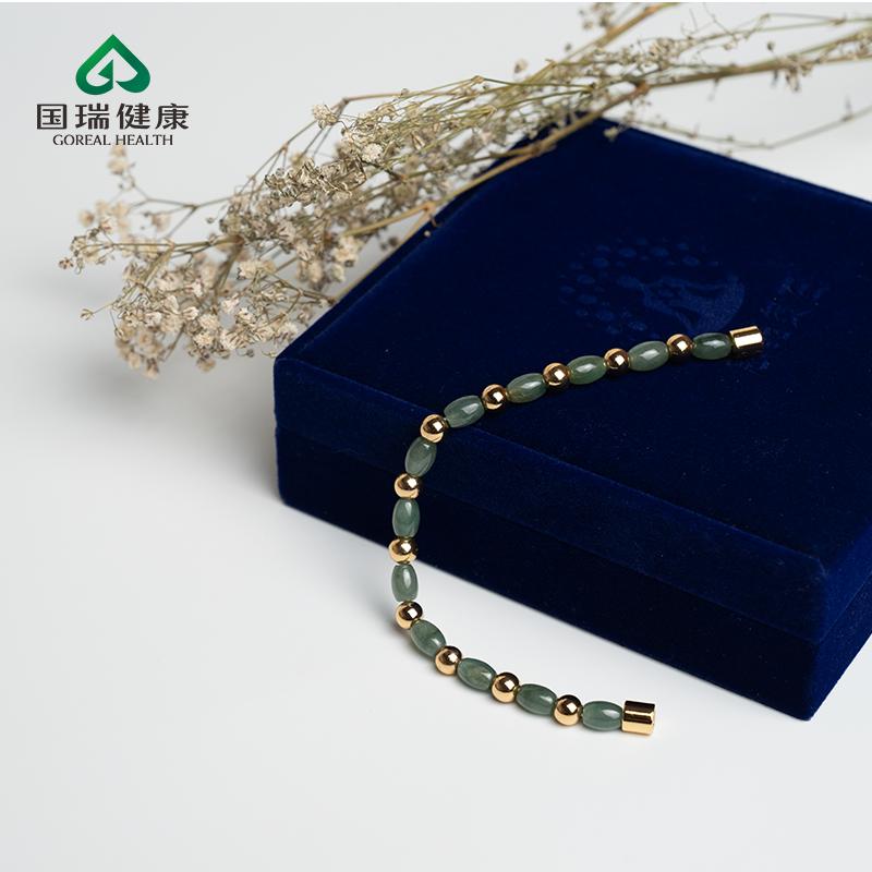 慈能灸石稀土K金手链·富贵人生